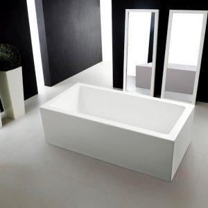 Large Rectangle Freestanding Bath – Quatro