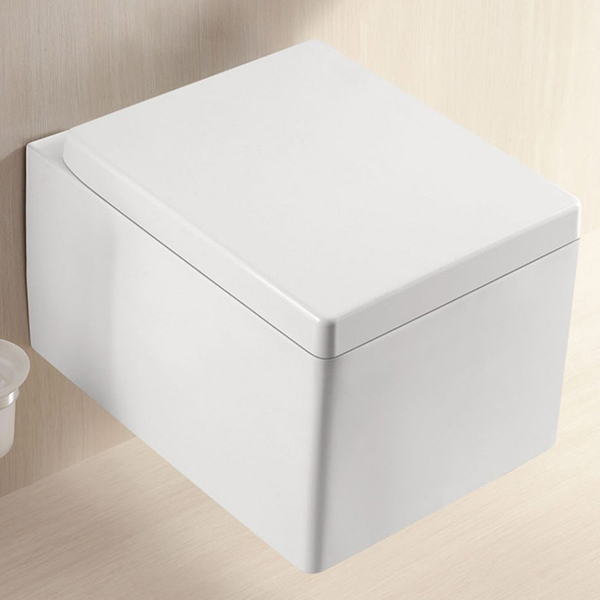 Square Wall Hung Toilet – Cube S