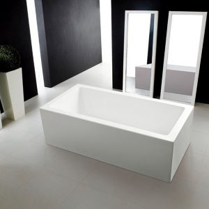 Large Rectangle Freestanding Bath – Quatro