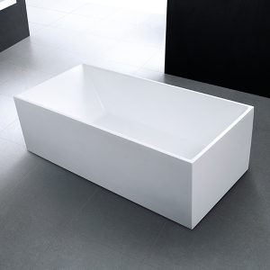 Rectangle Freestanding Bath – Cube Collection