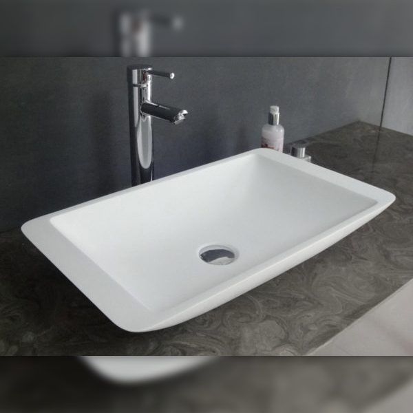Modern Rectangle Basin – Oblong Milano