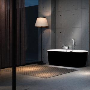Piave-(Black)-Freestanding-Bath-Black