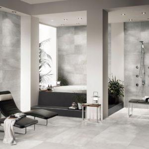 callisto grey porcelain floor tile from EuroTrend