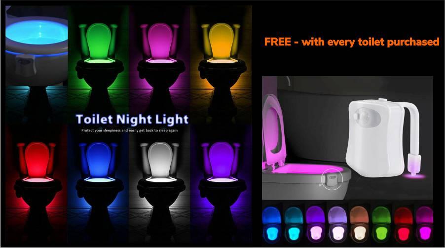 free toilet nightlight