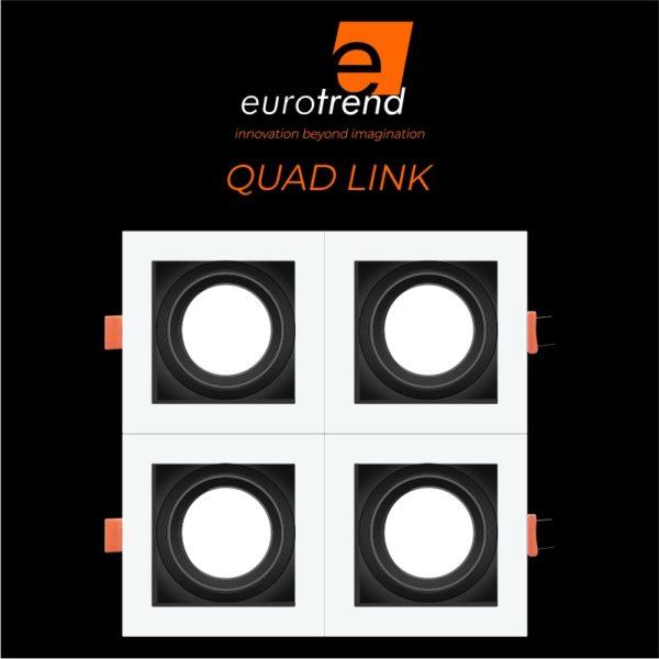 quad LED downlight